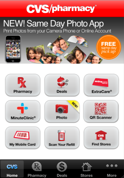 mobilize your extracare card with the cvs app snipsnap. Black Bedroom Furniture Sets. Home Design Ideas